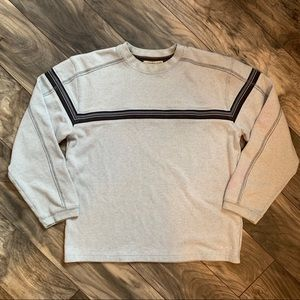Heavy sweater with chest stripe *$2 with bundle*